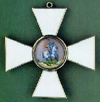 Знак ордена св. Георгия 3 степени. Лицевая сторона