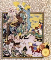 Copy after a miniature from the Iranian Imperial Collection, C.D.A., photographed by R. Guillemot from Edimedia, Paris
