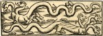 Two three-headed basilisks; illustration to an unidentified Latin edition of Sebastian Münster, 'Cosmographia', probably printed by Petri in Basel, c.1544-52.